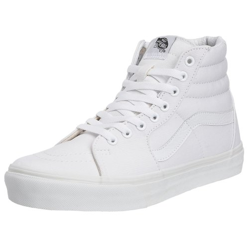 Vans U Sk8-Hi, Sneakers Unisex Adulto, Bianco (True White), 43