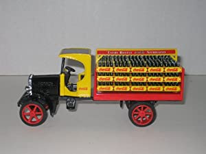 Ertl Coca-Cola Replica Delivery Truck Die-cast Metal Bank