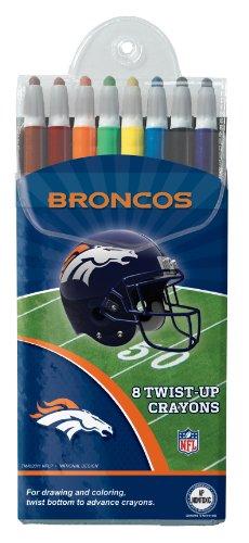 Denver Broncos Twist-Up Crayons, 8 Pack - Nfl (12018-Quh) front-761527
