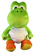 Nintendo 19in Stuffed Yoshi Plush Backpack - Yoshi Backpack Plush