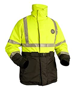 Mustang Survival Classic High Visibility Flotation Coat by Mustang Survival