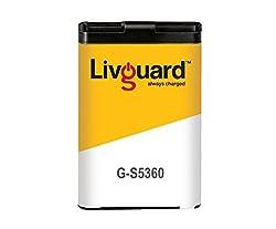 Livguard G-S5360 Battery for Samsung Phones (Black)