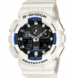 G-Shock GA-100B LTD Edition White GA-100B-7 Watch