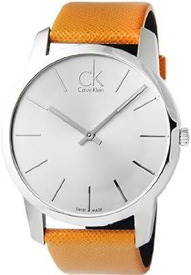 Calvin Klein Watch K2g21138 City Silver