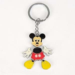 Amazon.com : Mickey Mouse Steel Keychain Keyring Ring Keyfob : Key