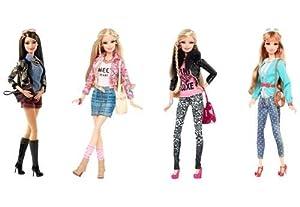 Mattel Barbie Fashionistas Deluxe Moden, Sortiment