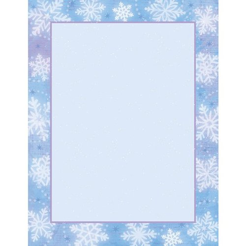 Snowy Breeze Printable Paper 25ct - 1