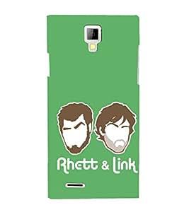 EPICCASE Rhett & Link Mobile Back Case Cover For Micromax Canvas Xpress A99 (Designer Case)
