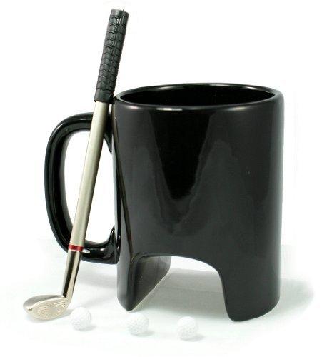 Simply Mugs Tasse mit Golfschläger und Golfbällen