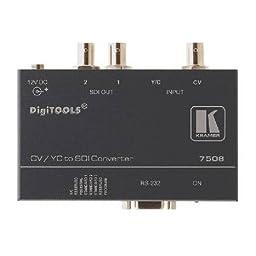 Kramer Electronics 7508 Analog to SDI Format Converter