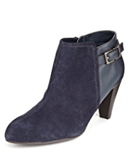 M&S Collection Suede Water Repellent Shoe Boots with Insolia®