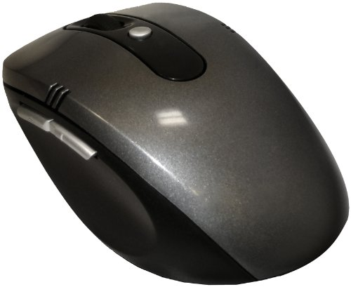 Vibe M-902 Wireless Notebook Optical Mouse (Silver)