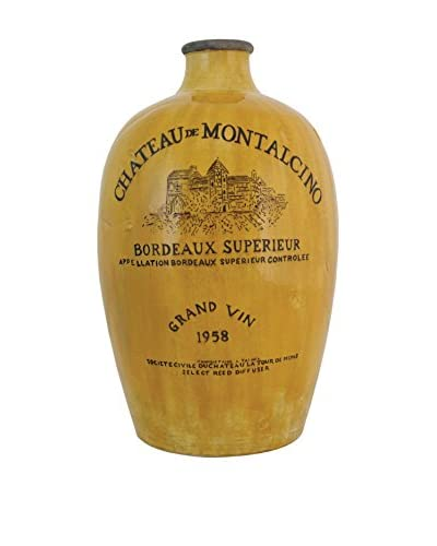 Import Collection Montalcino Bottle, Golden Yellow