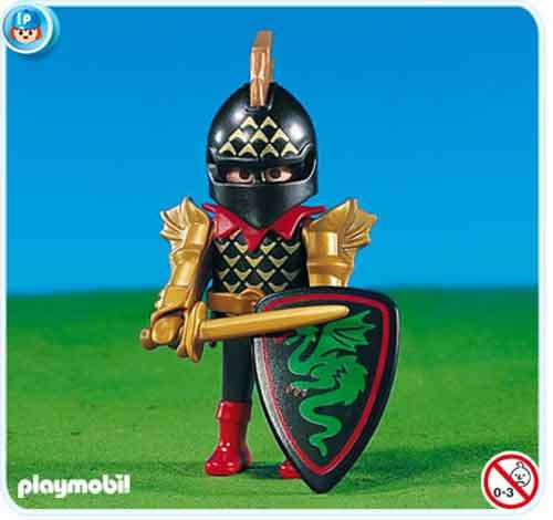 Playmobil Green Dragon Knight Leader - 1