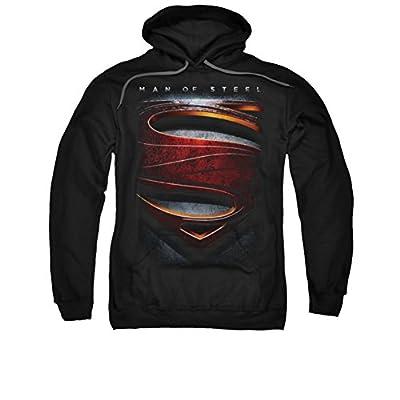 Superman: Hoodie - Man of Steel Shield