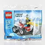 LEGO City Exclusive Mini Figure Set #30010 Fire Chief Bagged