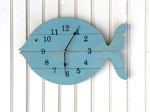 Painted Fish Clock