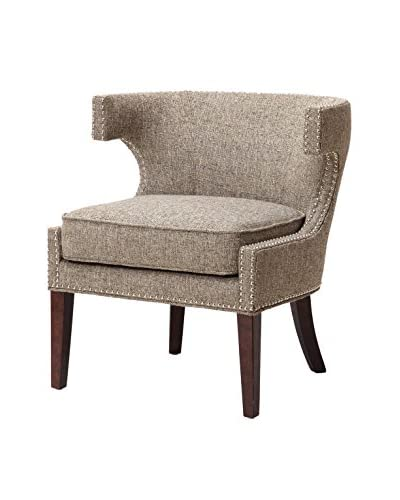 Luxury Home Stella Accent Chair, Grey