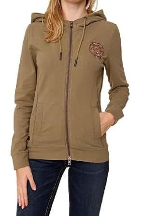 Aeronautica Militare Zip Through Hooded Sweatshirt CLIO