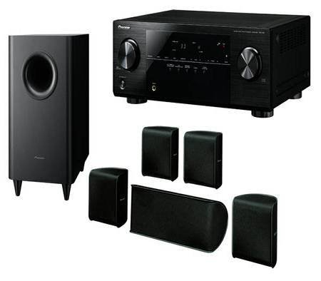 Pioneer Component-Based 5.1 CH Surround Sound