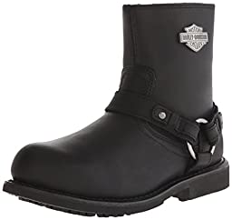 Harley-Davidson Men\'s Scout ST Harness Safety Boot, Black, 10 M US