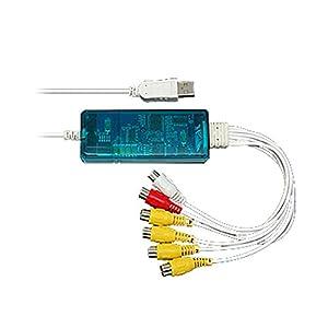 4 Channels USB DVR Camera Video Capture Surveillance
