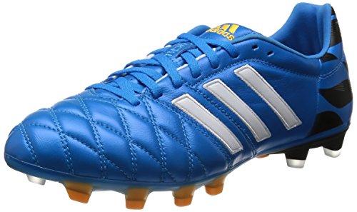 Adidas, 11 Pro FG, Scarpe Sportive, Uomo, Multicolore (C White/FTWWHT/Goldmt), 42
