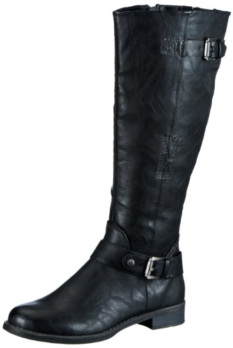 Marco Tozzi Womens 2-2-25500-21 Boots Black Schwarz (BLACK ANTIC 002) Size: 4 (37 EU)