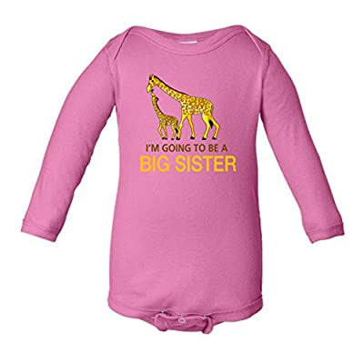 I'm Going To Be A Big Sister Infant Long Sleeve Bodysuit