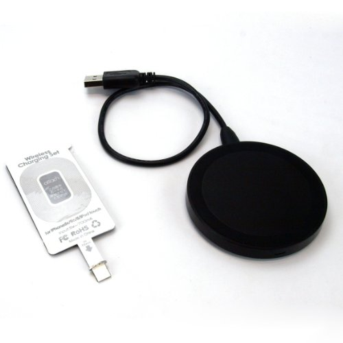 SP1331:スペックコンピュータ attach Wireless Charging SET for iPhone5s/5 iPhone5c iPodtouch (シルバー)