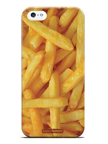Inspired Cases 3D Textured French Fries - Fast Food Case for iPhone 5 & 5s (Iphone 5s French Fries 3d Cases compare prices)