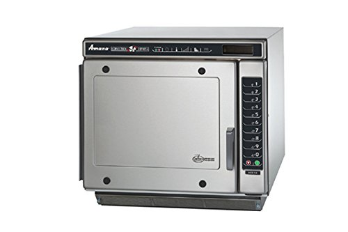 Amana Commercial Digital Microwave/Convection High Speed Oven Combo 1.2 Cft Countertop Model Mce-14