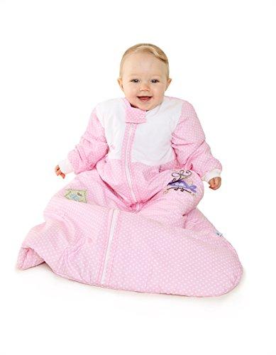 Schlummersack Winter Baby Sleeping Bag Long Sleeves 3.5 Tog- Little Birdie - 0-6 months/28inch