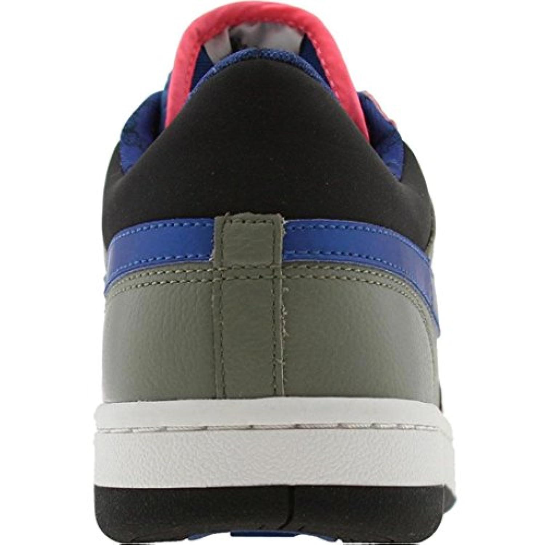 Nike Womens Court Force Low (dark stucco / varsity blue / lava)-11.5