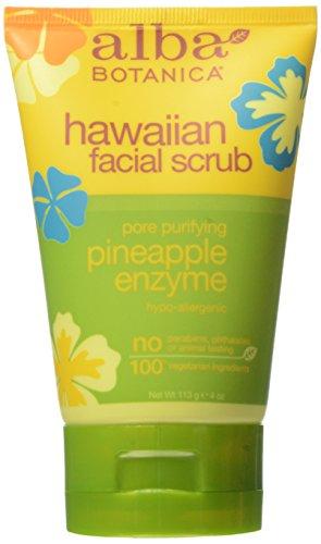 alba-botanica-hawaiian-skin-care-pineapple-enzyme-facial-scrub-4-fl-oz-by-alba-botanica