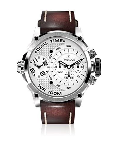 Timecode Orologio al Quarzo Marconi 1896 Marrone 46 mm