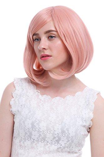 Nouqi® Sweet Anime Kuriyama Mirai Pink Fashion Bob Cosplay Wigs