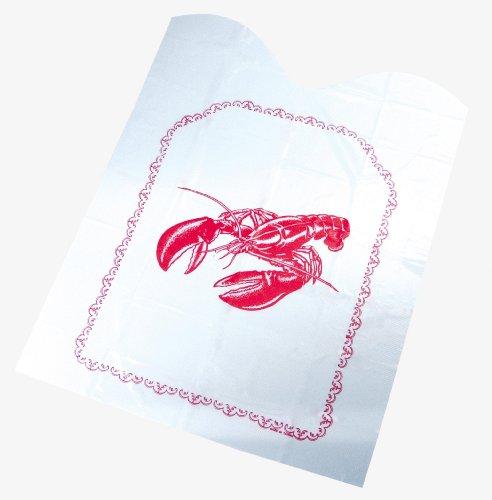 Fox Run Disposable Lobster Bibs, Set of Four
