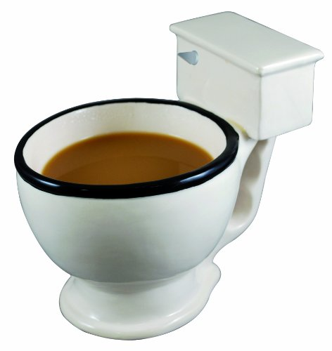 Toilet Coffee mug - a stiring white elephant gift