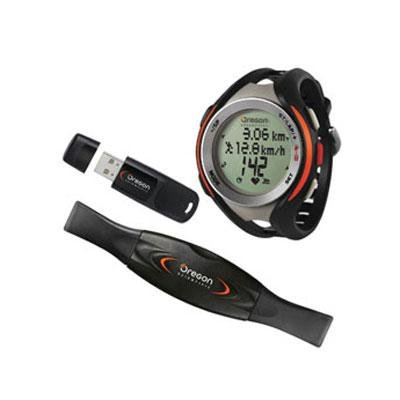Cheap Oregon Scientific SE833 Pc Download Heart Rate Monitor with Speed, Distance and Cadence, Black (SE833)