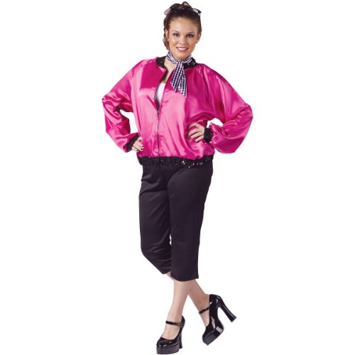Pink T-Bird Sweetie Costume - Plus Size 1X/2X - Dress Size 16-20