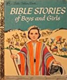 img - for Bible Stories for Boys and Girls (Little Golden Books) book / textbook / text book