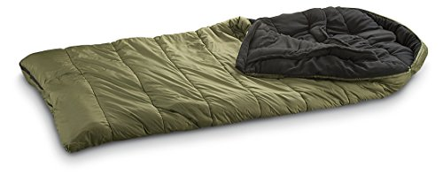 Guide Gear Minus 15 Degrees Sleeping Bag Green