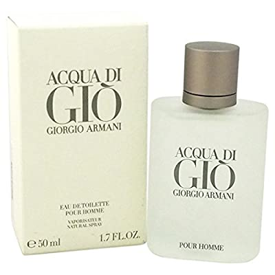 Giorgio Armani Acqua Di Gio Eau De Toilette Spray for Men, 1.7 Ounce