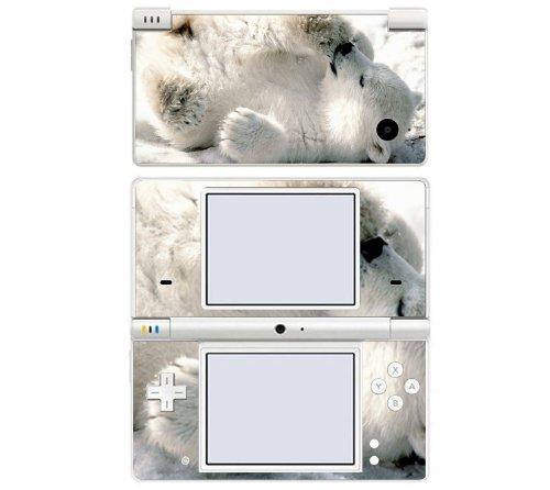 Baby Polar Bear Cub Decorative Protector Skin Decal Sticker for Nintendo DSi