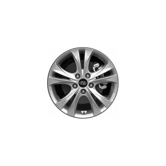 17 Inch 2011 2012 2013 Hyundai Sonata Style Alloy Wheel Rim Replica Lifetime Warranty