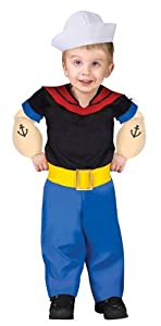 Popeye Toddler (Small (24mo-2T))