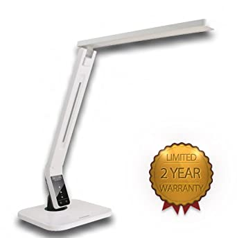 natural light led multi function desk lamp white reading lamp. Black Bedroom Furniture Sets. Home Design Ideas