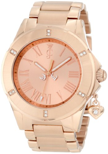 Juicy Couture Women's 1900895 Rich Girl Rose Gold Plated Bracelet Watch