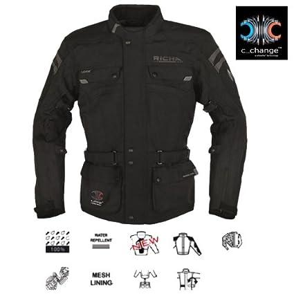 2SPT100/3XL - Richa Spirit C Change Motorcycle Jacket 3XL Black